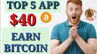 Top 5 bitcoin earning app earn btc crypto online